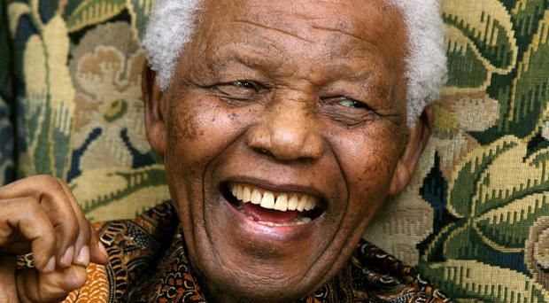 Former South African president Nelson Mandela has been admitted to a Johannesburg hospital