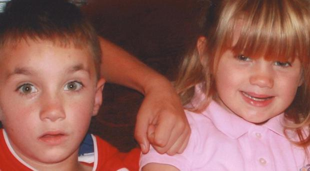 Tommy Henson, nine, and Alisha Henson-Nulty, six, were killed in a house fire with their two siblings