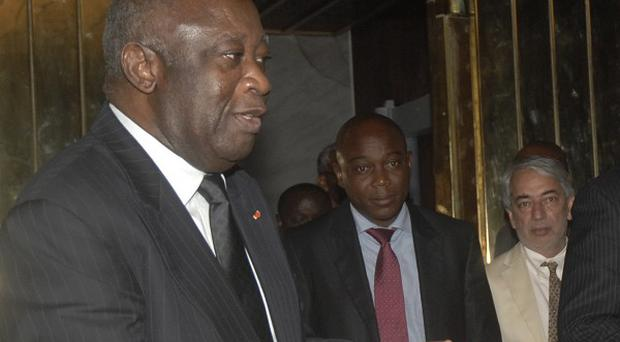 Ivory Coast leader Laurent Gbagbo has seized the nation's electric company (AP)