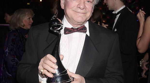 David Jason won an award at the NTAs for his final stint in A Touch Of Frost