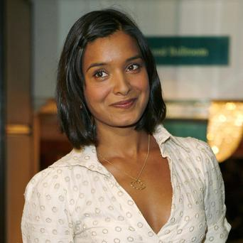 Shelley Conn plays a pregnant career woman in Marchlands