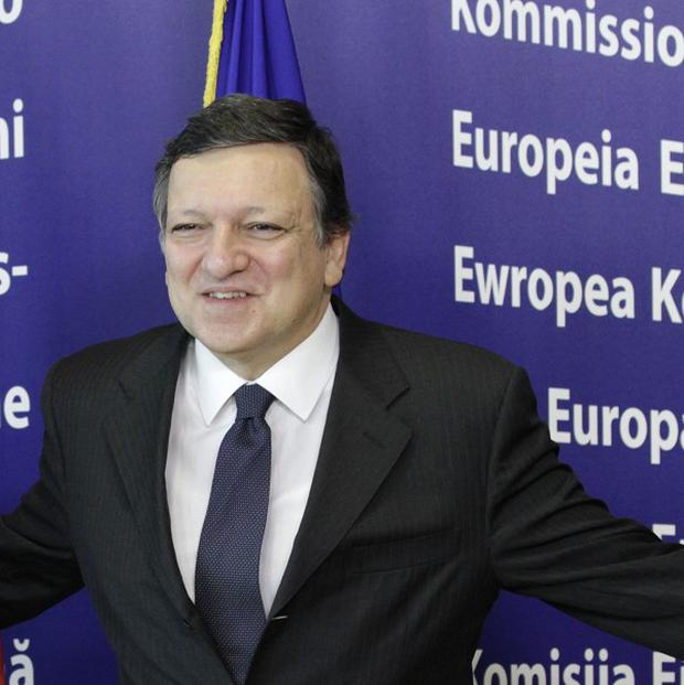 European Commission president Jose Manuel Barroso is being pressed for a cut in Ireland's bailout interest rate (AP)