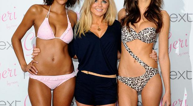 Geri Halliwell has launched a new swimwear range