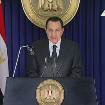 Egyptian president Hosni Mubarak has asked his Cabinet to resign (AP)