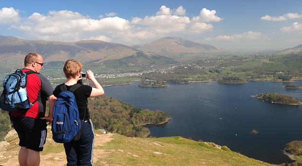 More than 350,000 walks were downloaded from the National Trust website last year