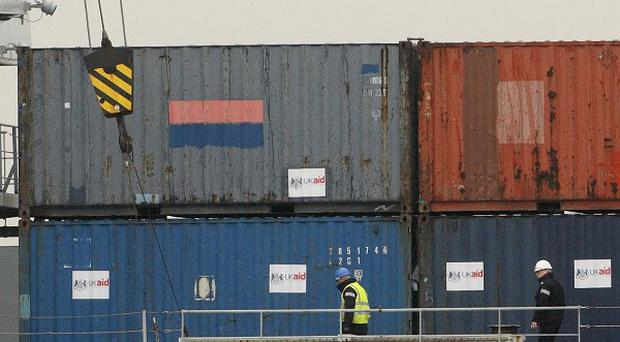 Trade through Belfast harbour is on the up again after a three-year downturn