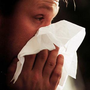 Flu symptoms usually peak after two or three days