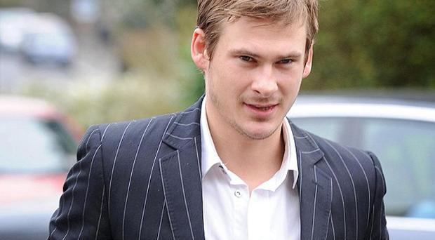 Lee Ryan and the other members of Blue will represent the UK at the Eurovision Song Contest