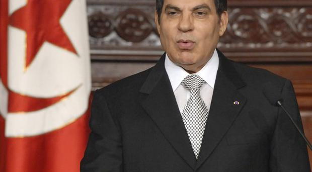 A money laundering investigation has been launched into accounts belonging to ousted Tunisian president Zine El Abidine Ben Ali
