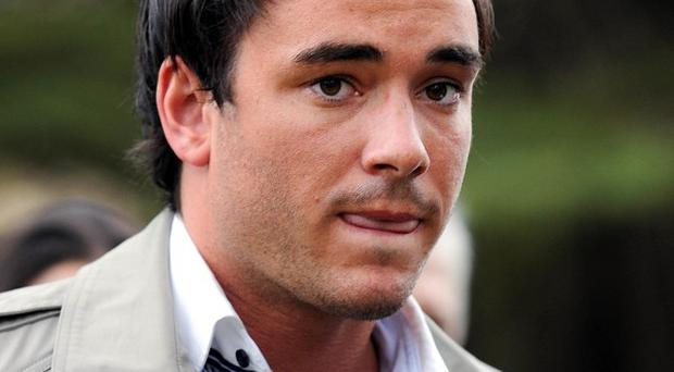 Jack Tweed has been charged by police over a scuffle outside a nightclub