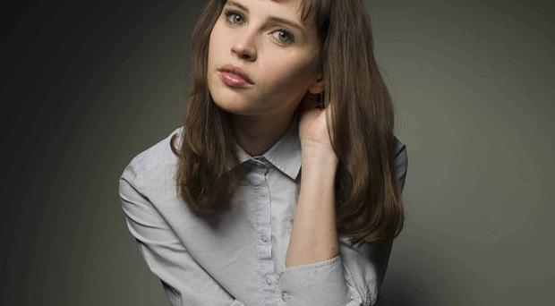 Felicity Jones picked up a prize at Sundance for her role in Like Crazy