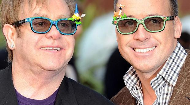 Sir Elton John and David Furnish say Gnomeo And Juliet was a labour of love for them
