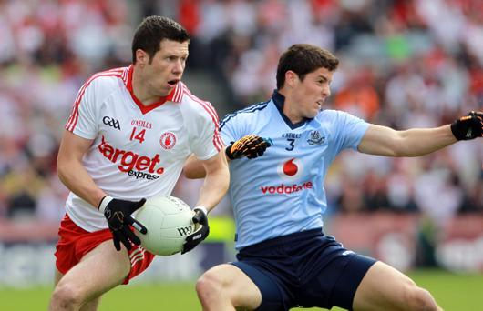 Sean Cavanagh (left) has been lifted by the outpouring of sympathy after Michaela's death