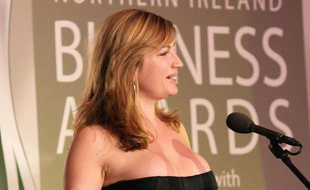 <b>FLASHBACK ..... Belfast Telegraph Business Awards 2010 </b>Guest speaker Karren Brady