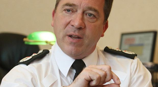 PSNI chief Matt Baggott