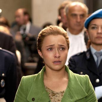 Hayden Panettiere is cast as Amanda Knox in the film about the murder