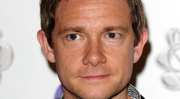 Martin Freeman is a bit nervous about shooting The Hobbit