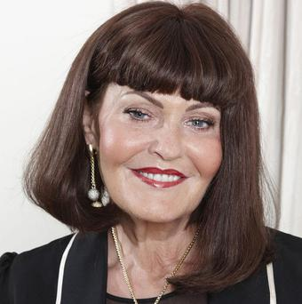 Hilary Devey will replace James Caan on Dragons' Den