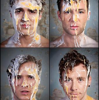 McFly had taken on some egg-shaped challenges