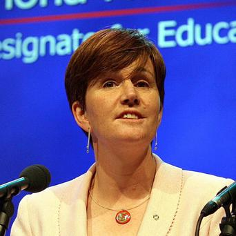 Education Minister Caitriona Ruane