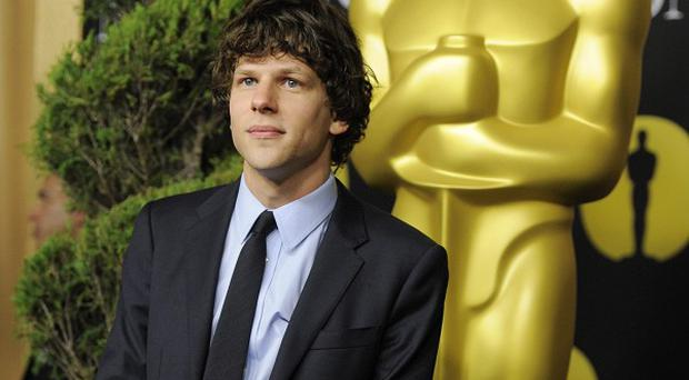 Jesse Eisenberg said he was nervous about meeting Mark Zuckerberg