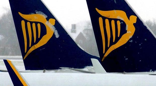 All 166 passengers were taken off a Ryanair plane in Lanzarote after a row broke out over baggage fees