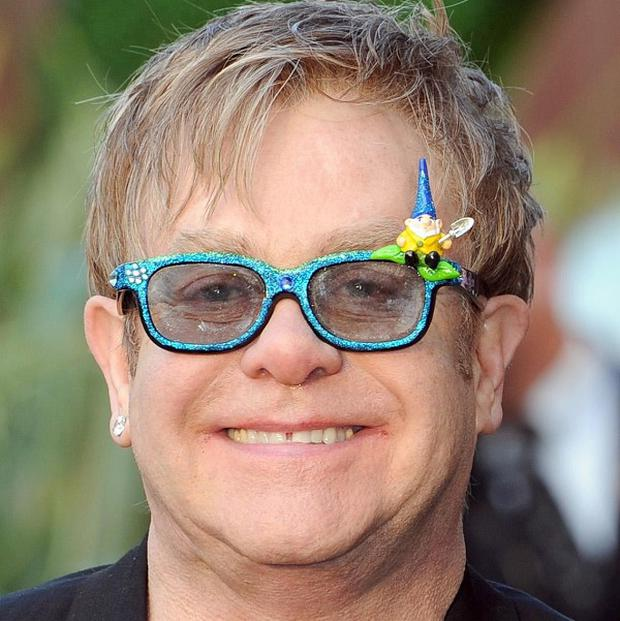 Sir Elton John is a big fan of Stephen Merchant