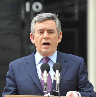 Leak documents suggest one of ex-PM Gordon Brown's senior advisers asked the commander of Nato forces in Afghanistan to play down his concerns