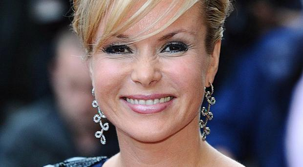 Britain's Got Talent presenter Amanda Holden