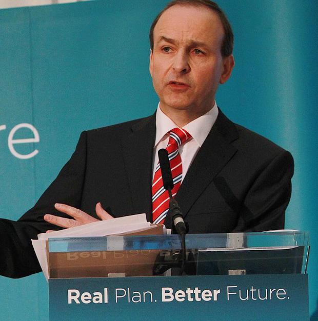 Fianna Fail leader Micheal Martin set out his party's commitment to science, technology and innovation