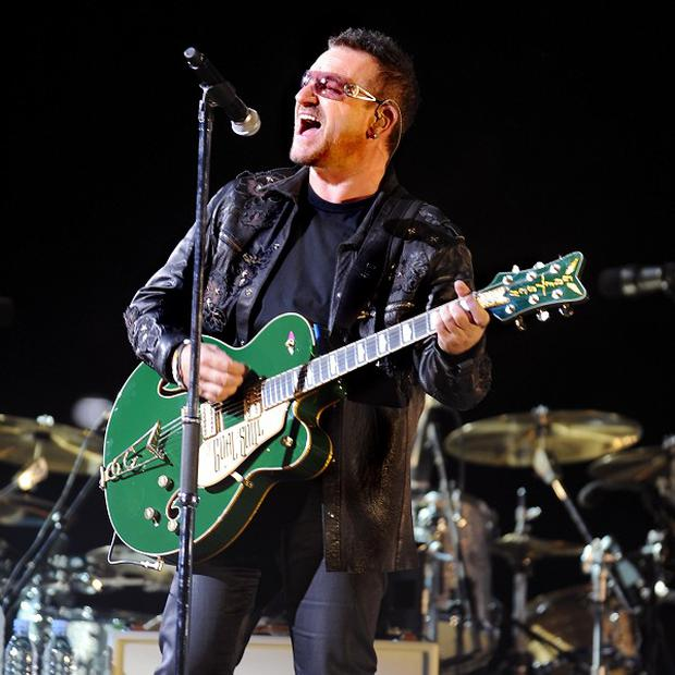 Bono and The Edge of U2 wrote the music for the show