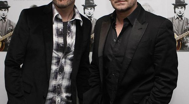 The Edge and Bono of U2 wrote the music for the show