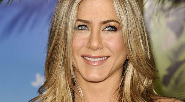 Jennifer Aniston stars in new romantic comedy Just Go With It, alongside Adam Sandler