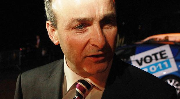 Fianna Fail Leader Micheal Martin said the party would aim to bring eight million visitors a year to Ireland by 2015