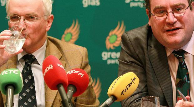 Green Party leader John Gormley and finance spokesman Dan Boyle said key changes would be made to the budget