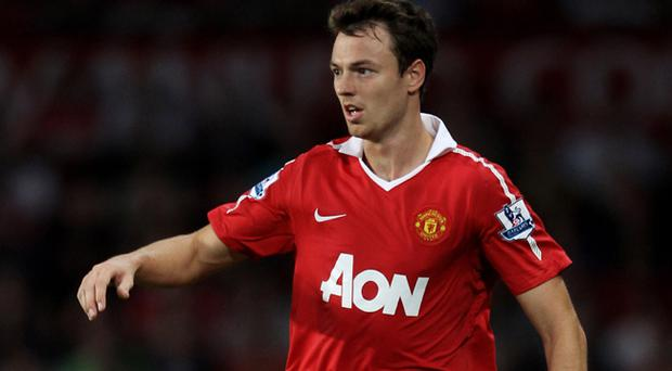 Jonny Evans has slipped down the pecking order at Old Trafford and his United future remains uncertain
