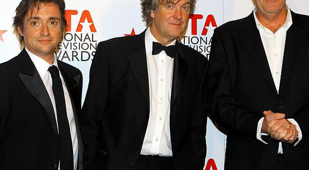 Top Gear presenters Richard Hammond, James May and Jeremy Clarkson joked about Mexicans