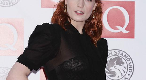 Florence Welch will take to the stage at the Grammys