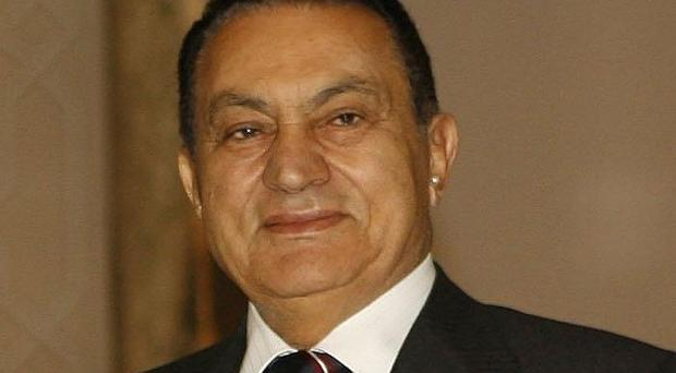 The Government has been urged to act on assets held by Hosni Mubarak