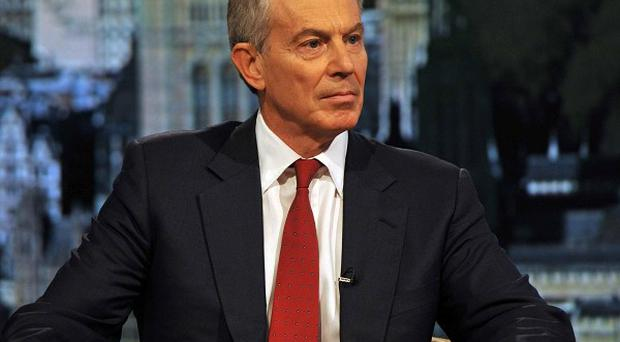 Tony Blair said the ousting of Hosni Mubarak could prove a pivotal moment in spreading democracy across the Middle East