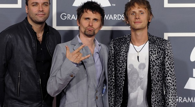 Muse won the best rock album Grammy for The Resistance