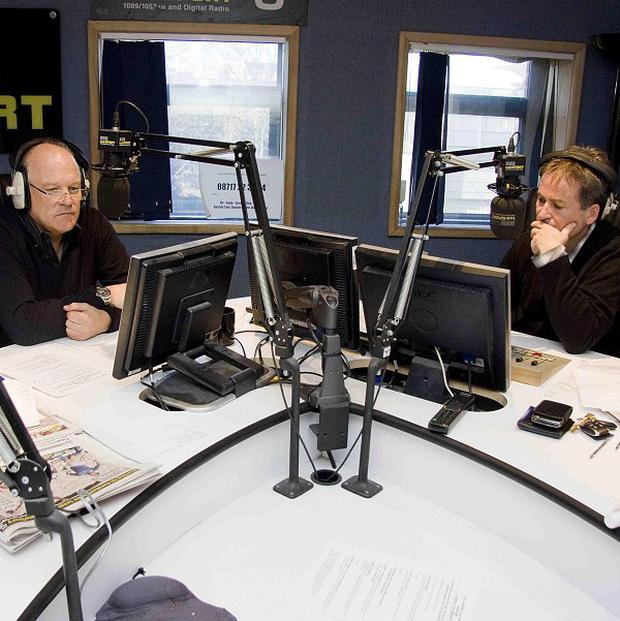 Andy Gray and Richard Keys take to the airwaves