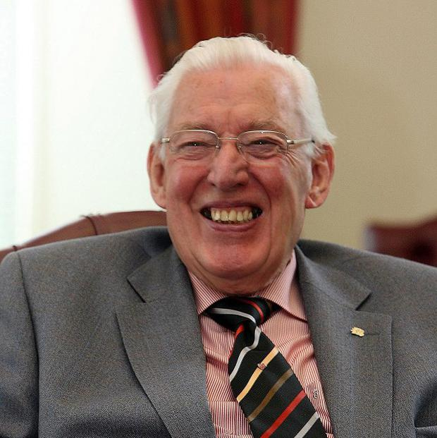 Former DUP leader Ian Paisley