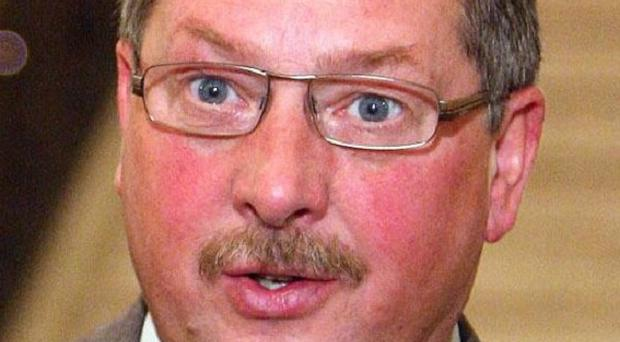 Sammy Wilson warned banks are in danger of damaging healthy businesses by pursuing them for cash