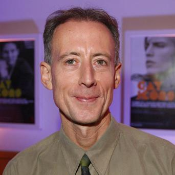 Gay rights activist Peter Tatchell
