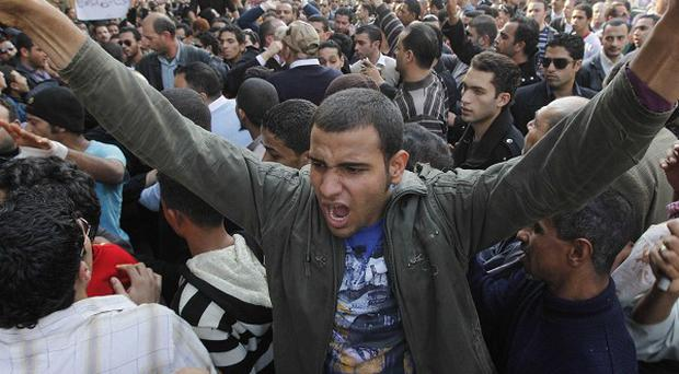 Egypt's military rulers have urged demonstrators to cease their protests (AP)