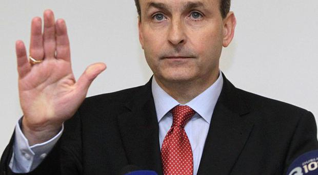 Fianna Fail leader Micheal Martin apologised for using a Chinese accent