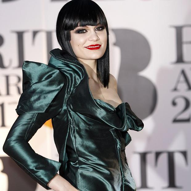 Jessie J brought some glamour to the Brits 2011