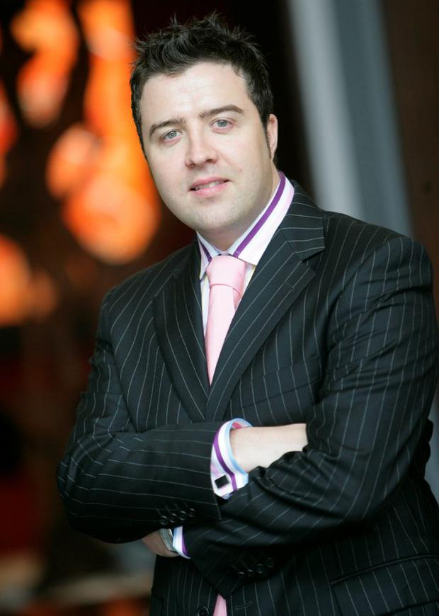 Vincent O'Gorman, general manager at the Fitzwilliam Hotel