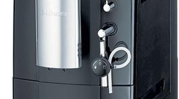 <b>1. MIELE</b><br/> It may come with a serious price tag, but this sexy machine will send you straight to coffee heaven. Use the touch-controls to navigate through selectable coffee strength, cup sizes, adjustable grind coarseness and more.<br/> 1,099<br/> harrods.com